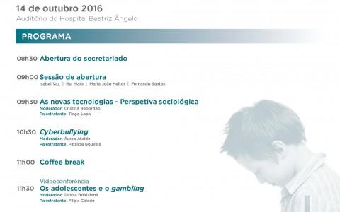 (Português) 1as JORNADAS DO SERVIÇO DE PSIQUIATRIA DA INFÂNCIA E DA ADOLESCÊNCIA DO HBA