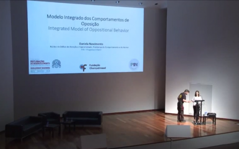 "Lecture from Drª DANIELA NASCIMENTO ""Integrated Model of Opposition Behaviour""  PIN and Champalimaud Foundation Symposium – 30 and 31 May 2014"