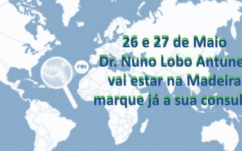 Consultas do Dr. Nuno Lobo Antunes na Madeira