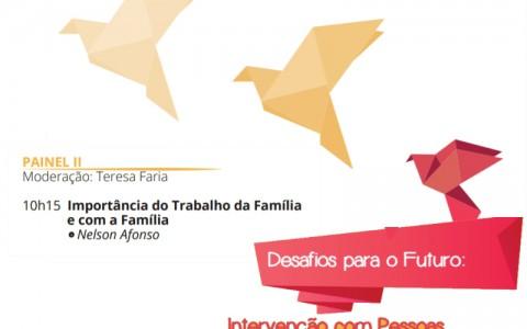 Seminário – Desafios para o futuro. Intervenção com pessoas com deficiência