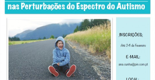 Workshop: Desafios do dia-a-dia nas Perturbações do Espetro do Autismo