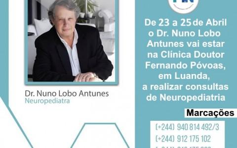 Dr. Nuno Lobo Antunes em Luanda