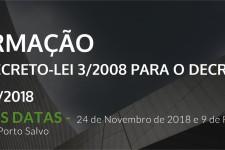 (Português) FORMAÇÃO: DO 3/2008 PARA O 54/2018 (2º Edição)