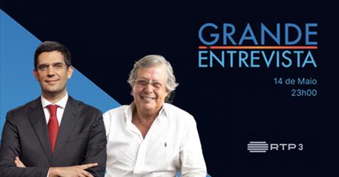 """Hoje, às 23h00, não perca o Dr. Nuno Lobo Antunes na """"Grande Entrevista"""" com Vítor Gonçalves"""