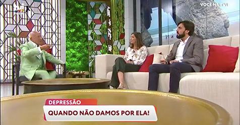 """(Português) «Você na TV!» – TVI """"A importância de pedir ajuda quando reconhecemos que algo não está bem em nós"""""""