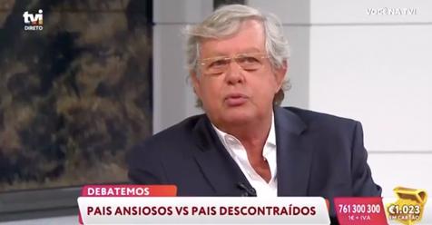 """«Você na TV» – TVI """"Debate – Pais ansiosos VS Pais descontraídos"""" – Dr. Nuno Lobo Antunes"""